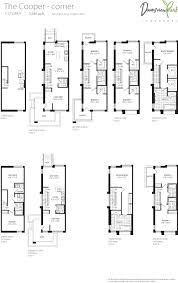 luxury townhome floor plans downsview park the luxury townhome collection urban toronto