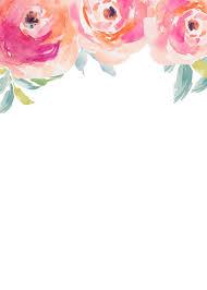 blank invitations stripes friday freebie blank floral invitation