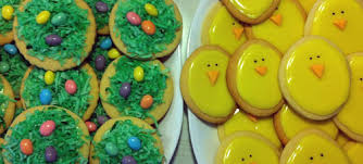 My mitment to Easter Cookies  Baking – Decorating