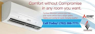 mitsubishi electric cooling and heating mitsubishi ductless heating and air conditioning systems las vegas