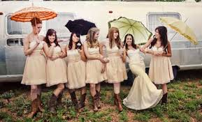cowgirl weddings with boots weddings by lilly