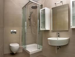 cream small bathroom corner showers design ideas using corner