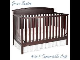Graco Stanton 4 In 1 Convertible Crib Assembling The Graco Benton Convertible Crib