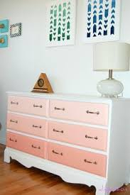 pink and white chalk painted dresser antoinette best of