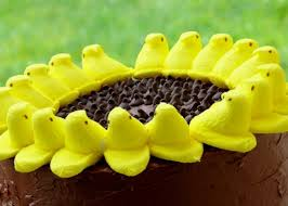 peeps decorations 7 ways to decorate cakes with easter candy allrecipes