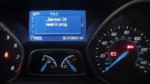 how to turn off oil change light in ford fusion 2014 ford focus oil reset reset oil maintenance light pinterest