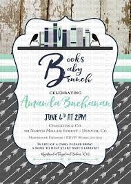 Library Card Invitation Baby Shower Bring A Book Baby Shower Invitation Tribal Boho Chic Arrow