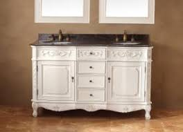 60 Inch Bathroom Vanity Double Sink by Shop Bathroom Vanities 49 To 60 Inches Wide With Free Shipping