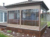 Clear Vinyl Curtains For Porch Clear Vinyl Porch Enclosures Vinyl Porch Curtain System