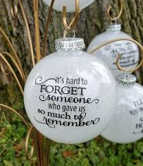 large glitter memorial ornament belly boo tique