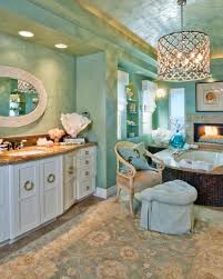 bathroom blue green bathroom