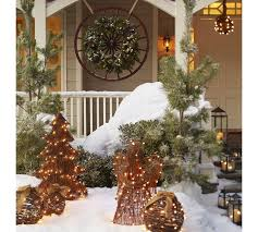 Christmas Decorations Outdoor Ideas - 93 best christmas outdoors entryways and stairs images on