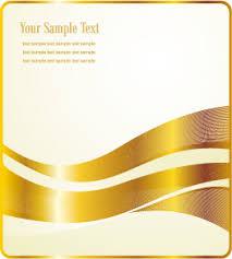 gold ribbon gold ribbon label vector free vector 4vector