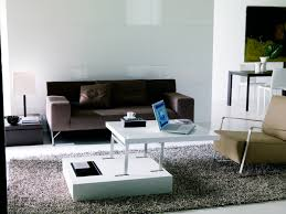 flat diamond coffee table transformable table by ozzio design