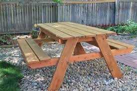 Ana White Picnic Table Stylish Composite Wood Picnic Table Ana White How To Build An