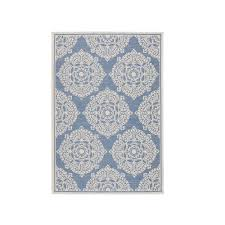 home decorators collection cleo multi grey 5 ft 3 in x 7 ft 6