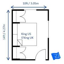 What S The Dimensions Of A King Size Bed Bedroom Design For King Size Bed 10 X 14ft It Would Be Possible