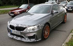 stanced bmw m4 bmw m4 shows off updated look to spy photographers autoguide com
