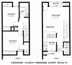 4 X 7 Bathroom Layout Emejing Two Story Apartment Floor Plans Images Home Decorating