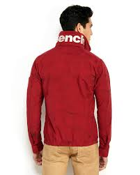 Mens Bench Jacket Bench Printed Alternative Jacket In Red For Men Lyst