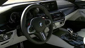 first bmw m5 2018 bmw m5 f90 first interior video youtube