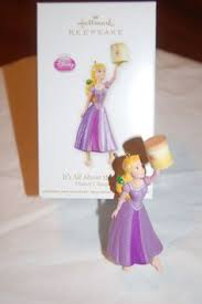 hallmark disney tangled rapunzel ornament ornaments