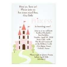 princess birthday party invitations u0026 announcements zazzle canada