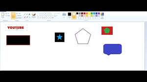how to make background transparent in paint ms paint youtube