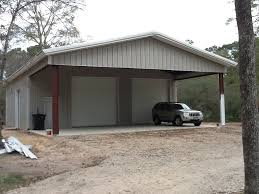 Car Port Roof Garage With Extended Carport Roof In Front The Garage Journal