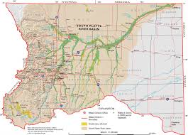 Colorado Usa Map by South Platte Natural Capital Project Urban Waters Federal United