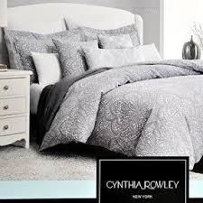 Paisley King Duvet Cover Gray Paisley Bedding Foter