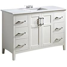kitchen bath collection kbc548wtcarr bella bathroom vanity with