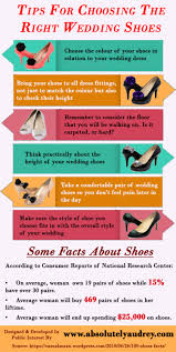 wedding shoes tips tips for choosing the right wedding shoes visual ly