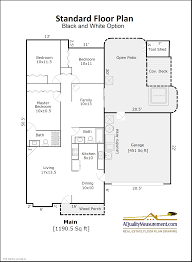 floor plans for large homes portland home energy scores floor plans a quality measurement