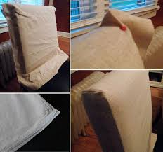 Diy Dining Room Chair Covers Diy Dining Chair Seat Covers How To Sew Chair Covers Plus