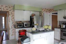 strawberry swing and other things blue and white kitchen cabinet