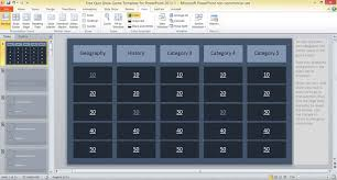 free quiz show game template for powerpoint 2013