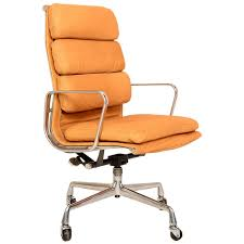 eames herman miller leather soft pad group chair vinterior