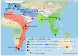 map of america 20000 years ago the age of sapiens