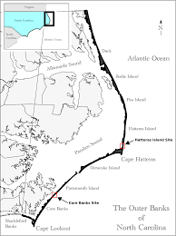 Outerbanks Map Ijgi Free Full Text Barrier Island Dynamics Using Mass Center