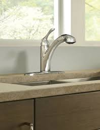 how to install a moen kitchen faucet faucet com 87017w in glacier by moen