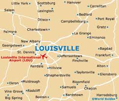 map of ky and surrounding areas louisville maps and orientation louisville kentucky ky usa
