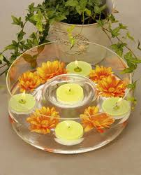 Floating Candle Centerpiece Ideas Table Decorating Ideas Candle Centerpiece Floating Candles Flowers