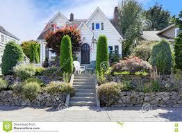 craftsman style cottage homes royalty free stock photo image