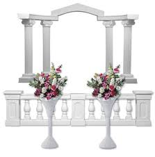 wedding arches and columns plastic columns and arch starter pack event supplies and more