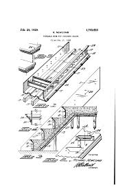 patent us1703633 portable form for concrete stairs google patents