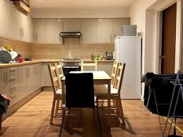 4 single rooms in house with garden new kitchen 2 beautiful