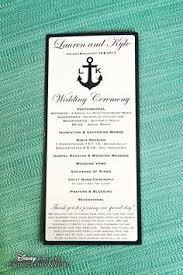 nautical wedding programs wedding fan program template navy marine blue nautical dreams
