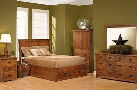 creative of amish furniture bedroom sets rustic cabin hickory wood