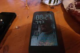htc one m8 dot view case three months later now with theme
